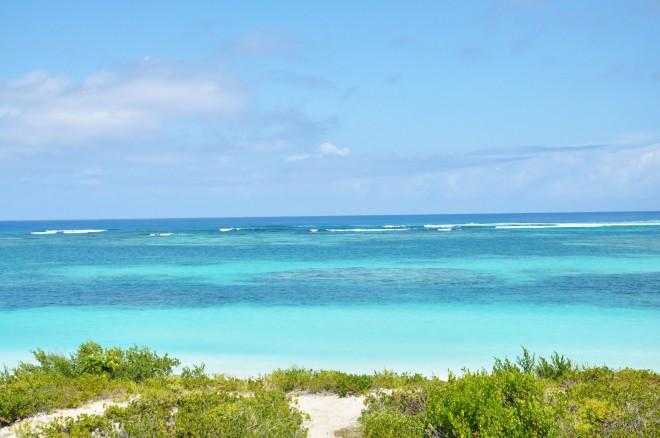 Anegada ocean and beach