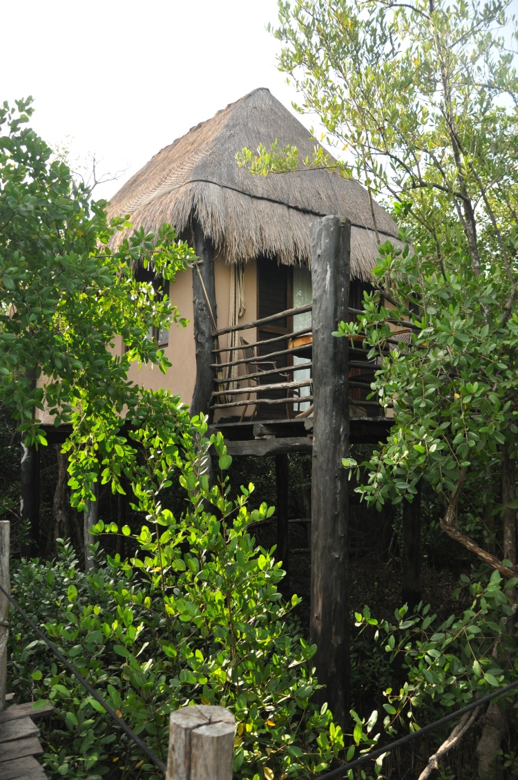 Thatched hut tulum