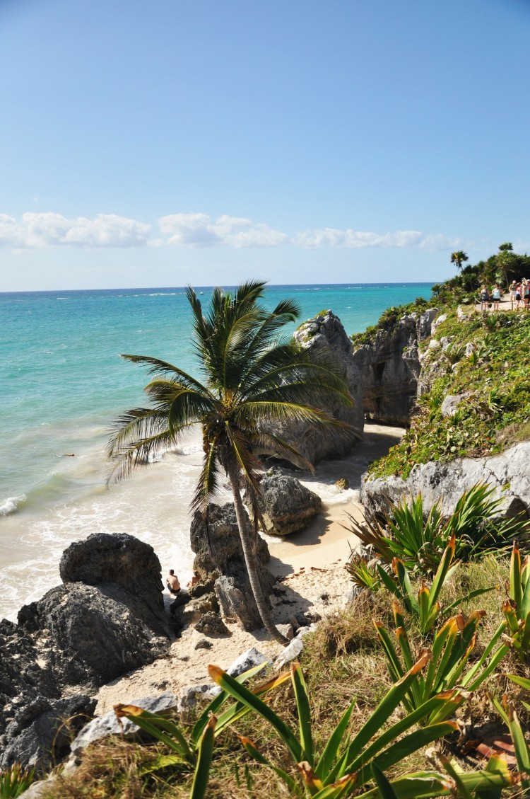 Tulum beach view