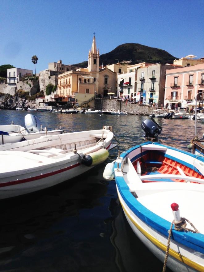 Marina corta with boats