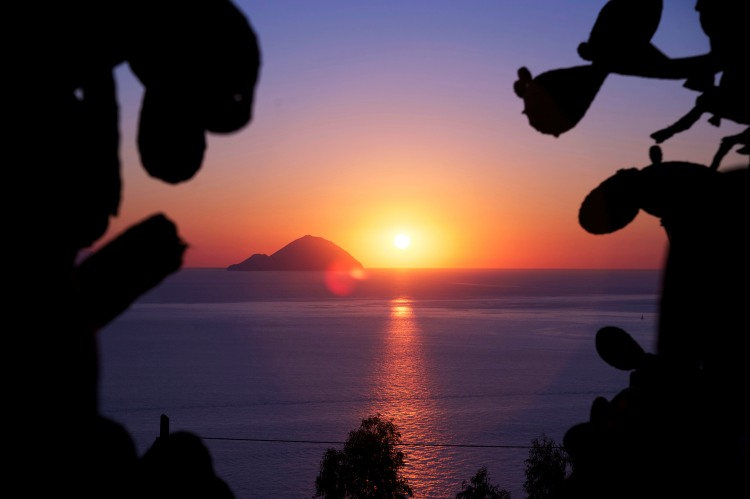 Sunset in Lipari