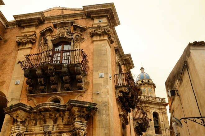 Old building in Ragusa Ibla