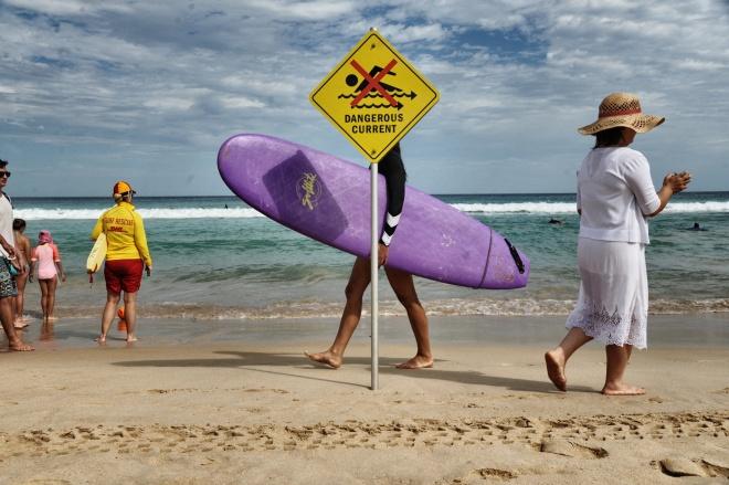 Bondi Beach surfer girl