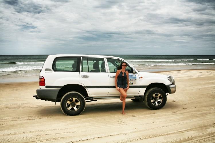 Fraser Island Land Rover