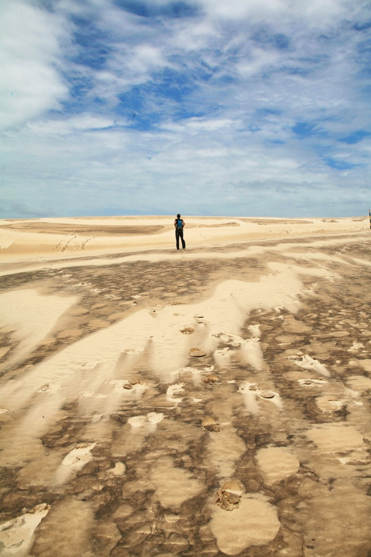 Fraser Island sand blow