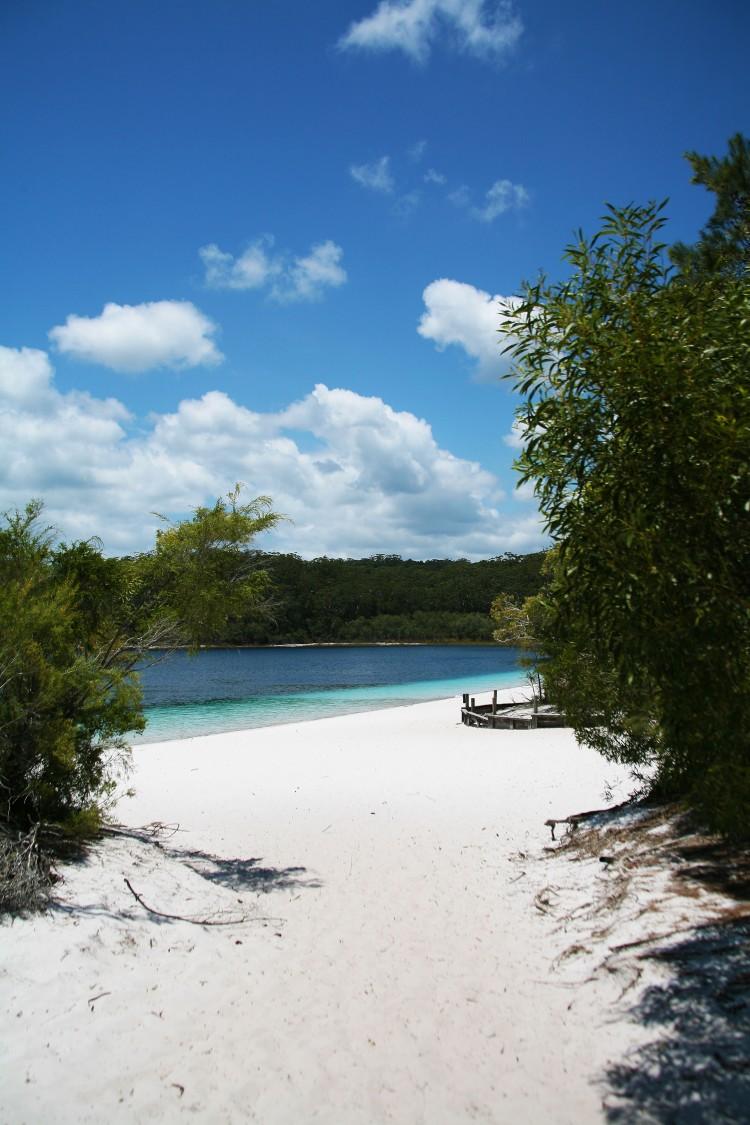 View of Lake Mckenzie