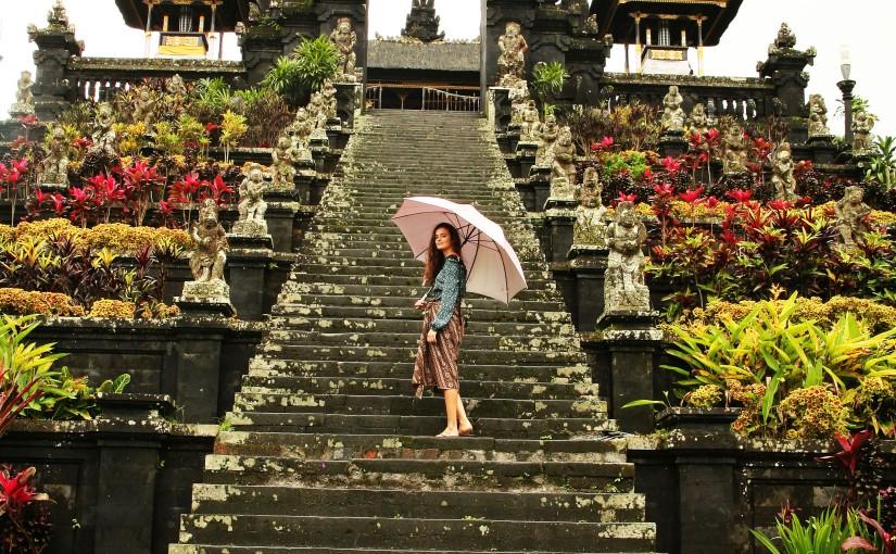 Bali in therain
