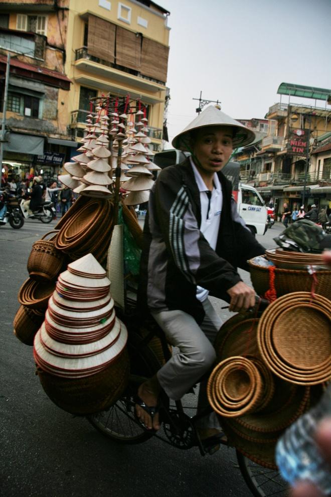Hat Man in Hanoi
