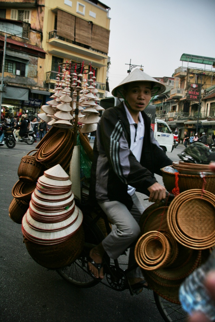 Hat Man in Hanoi