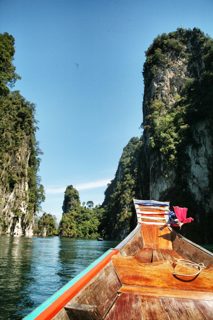Thailand longtail boat