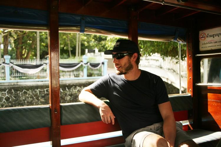 Josh on Rickshaw