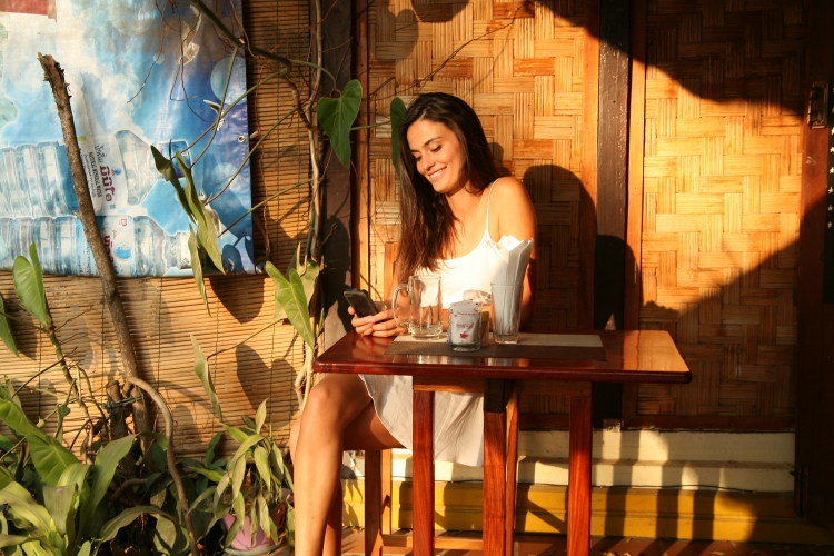 girl in Luang Prabang